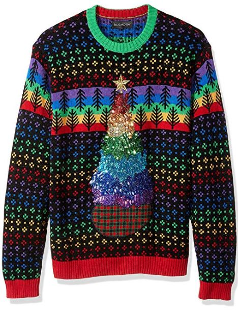 Best Ugly Holiday Sweaters on Amazon: PRIDE Christmas Sweater