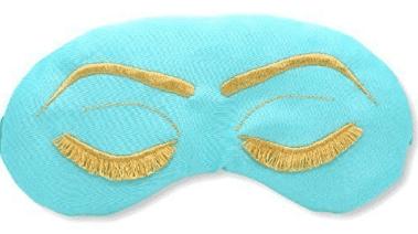 gift guide for women Breakfast at Tiffany's Inspired Sleep Eye Mask