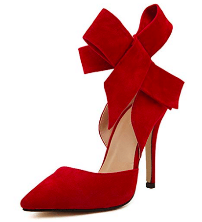 gifts for women MMJULY Holiday Bow High Heels