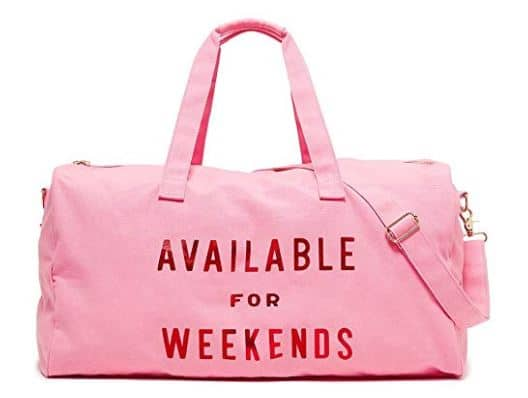 womens gift guide ban.do Women's Getaway Duffle Bag