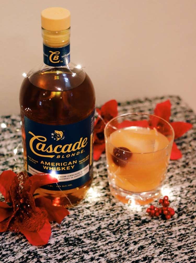 Winter Whiskey Drinks - Grapefruit Whiskey sour