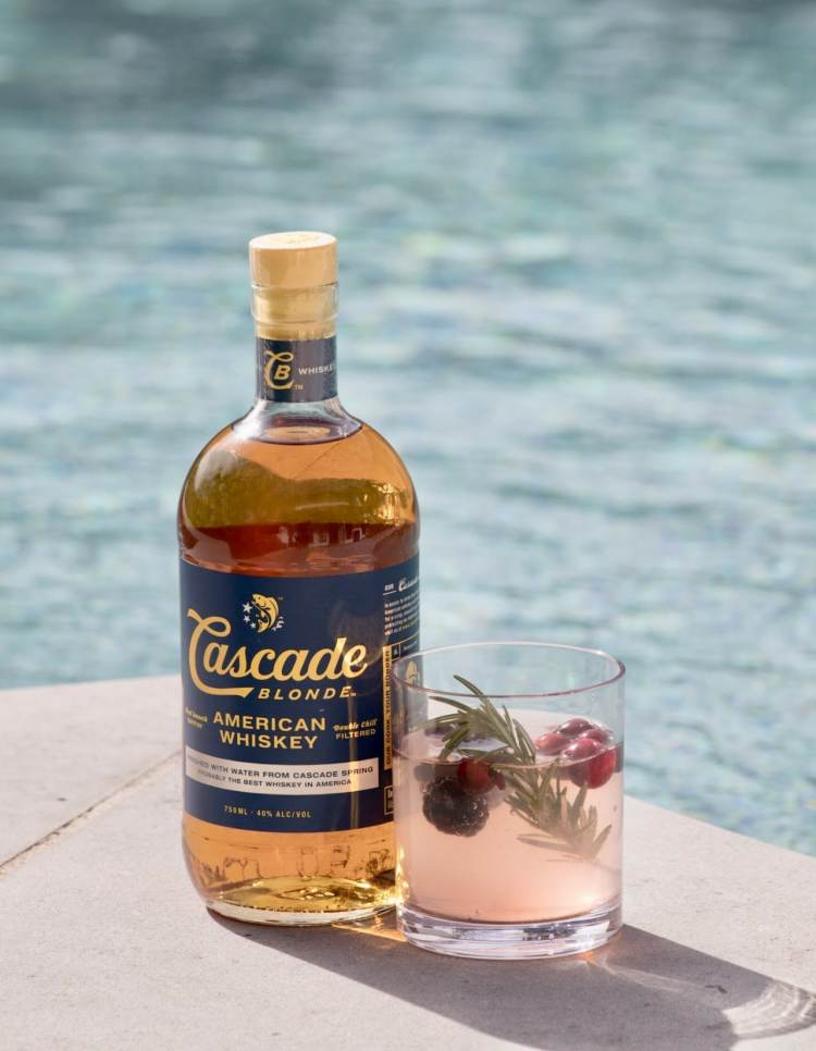 Winter Whiskey Drinks - Cascade Punch