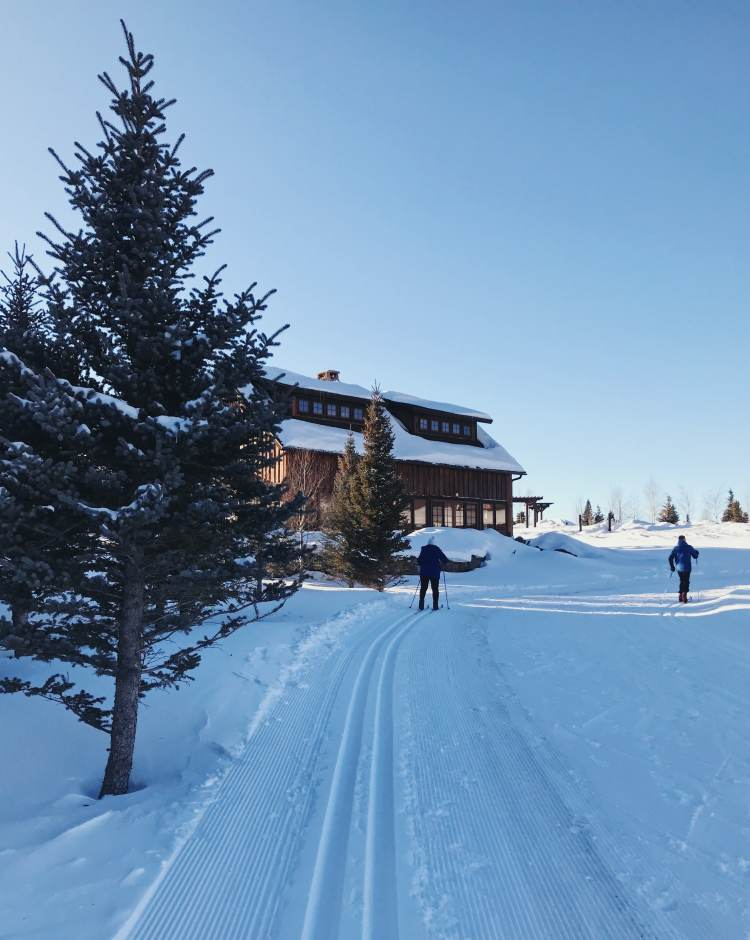 Cross Country Skiing at Devil's Thumb Ranch and Spa