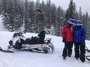 Snowmobiling at Winter Park Resort