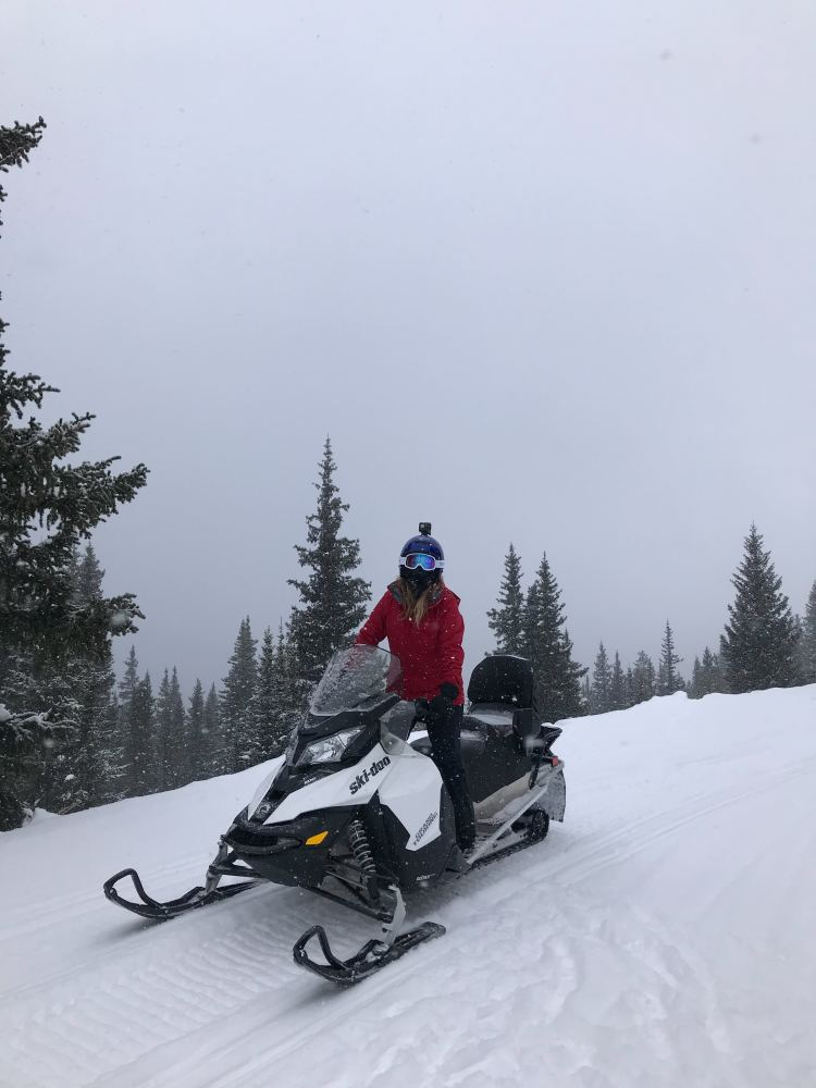 Snowmobiling at Winter Park Resort