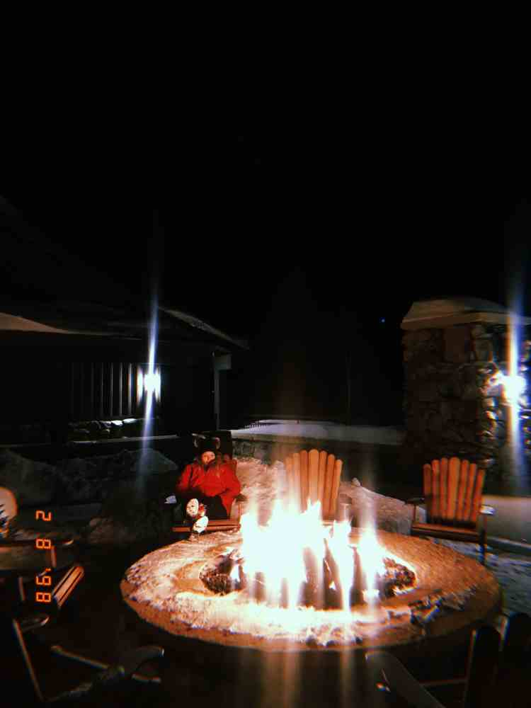 Visiting Devils Thumb Ranch - Fire Pit