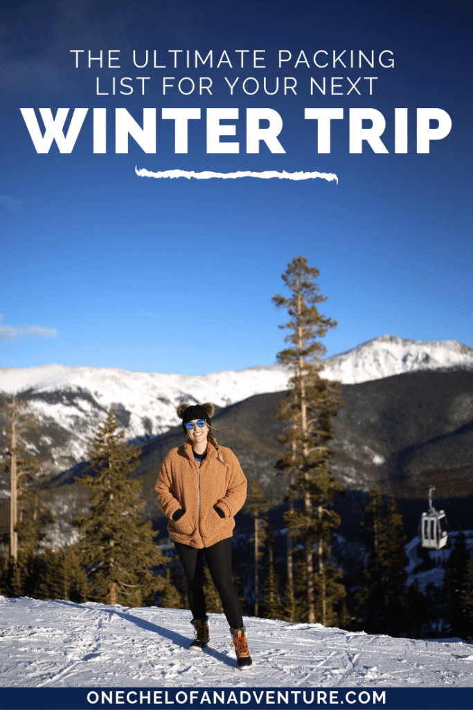 Everything You Should Pack for a Winter Trip in the Snow