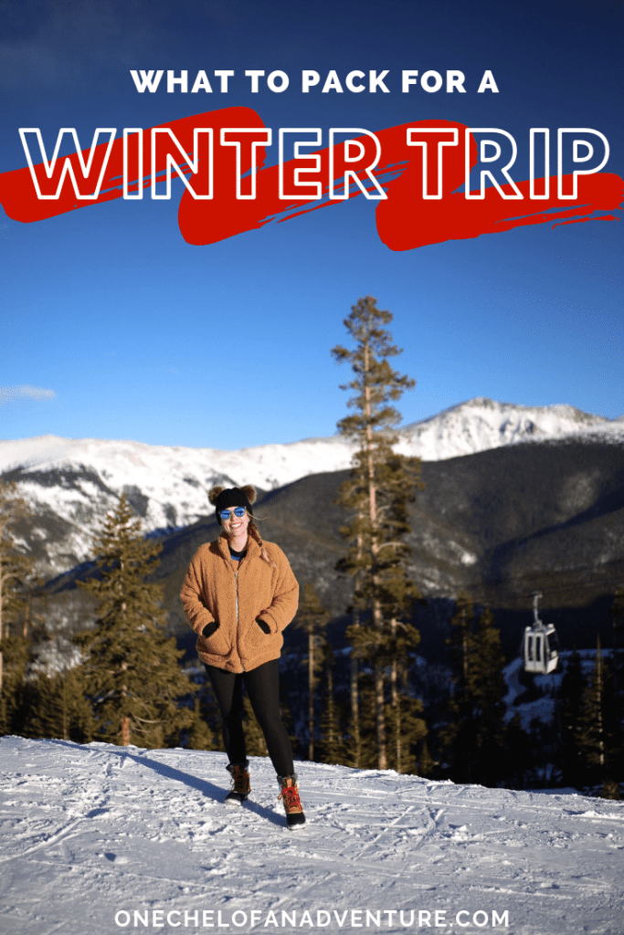Everything You Should Pack for a Winter Ski Trip