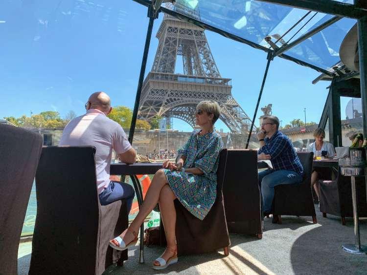 Bateaux Parisiens Seine River Cruise Eiffel Tower Views
