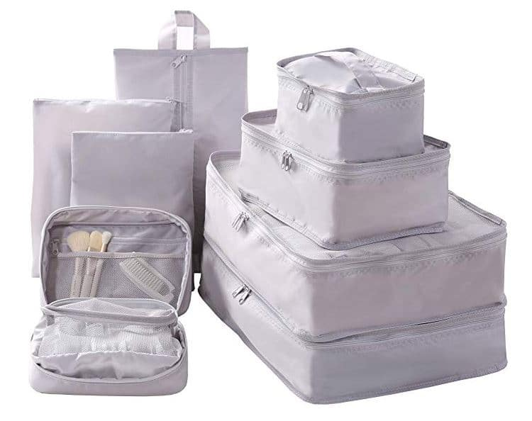 Fall Travel Must Haves: packing cubes on amazon