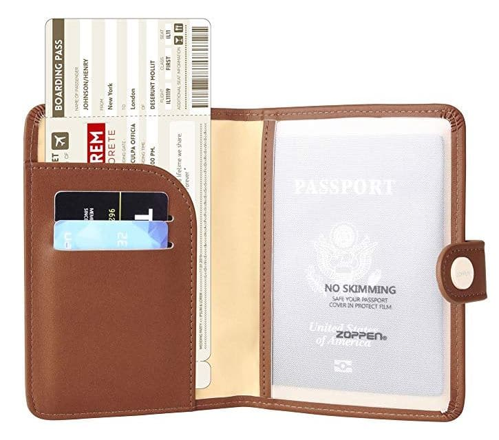 Fall Travel Must Haves: RFID Passport Cover