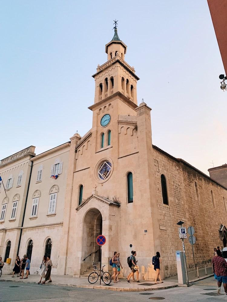 Split Croatia Old Town Church
