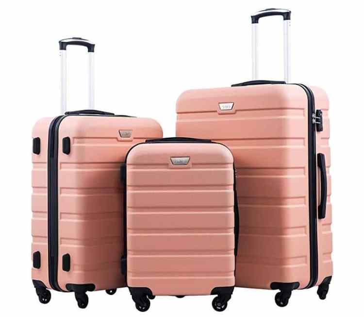 Fall Travel Must Haves on Amazon: Coolife Luggage Set