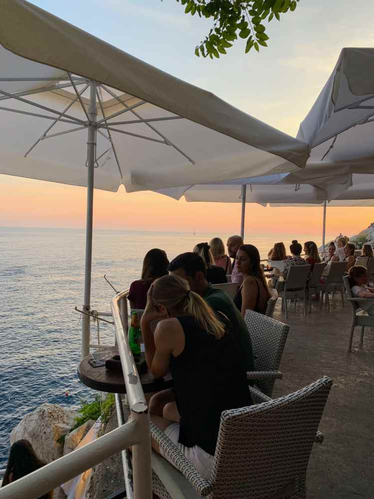 Buza Cliff Terrace Bar Dubrovnik Old Town