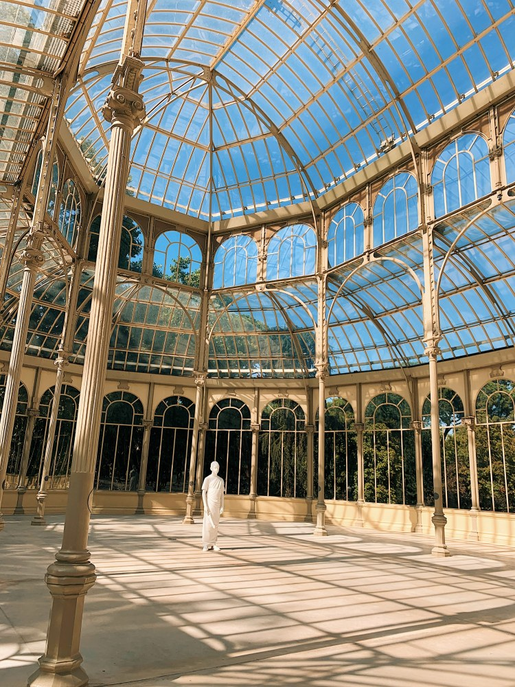 How to have an awesome Weekend in Madrid - Palacio de Cristal del Retiro