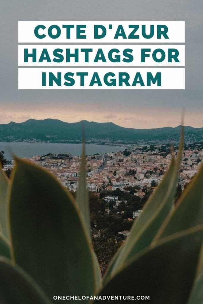 Cote D'Azur Instagram Hashtags