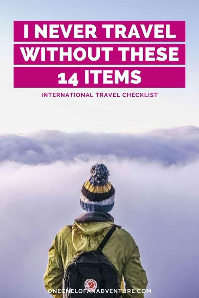 International Travel Essentials to always have