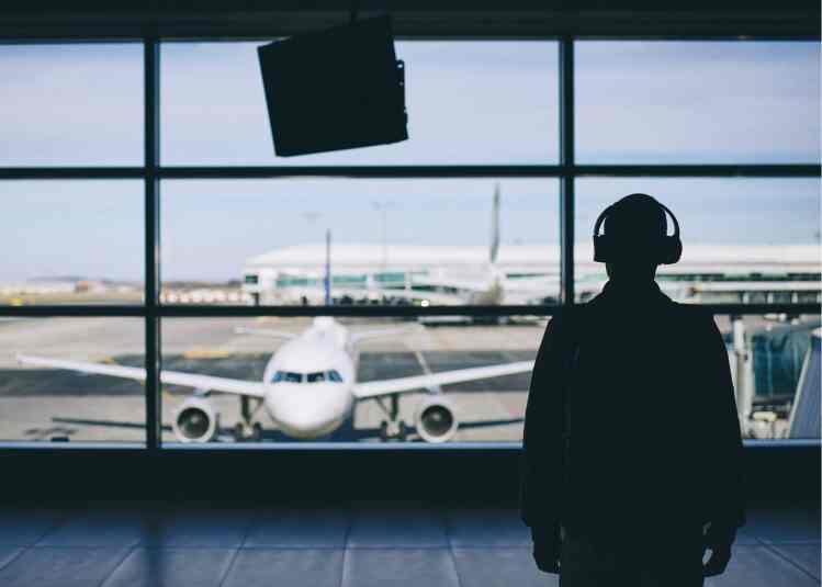 International Travel Essentials - noice canceling headphones