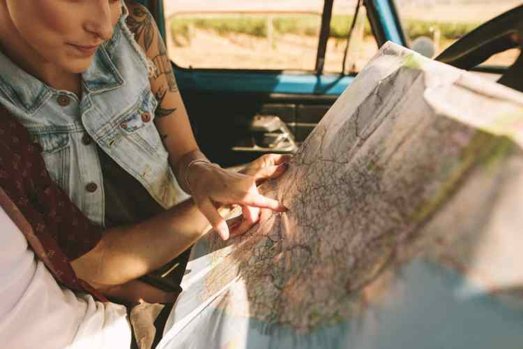 get your car ready for a road trip - maps