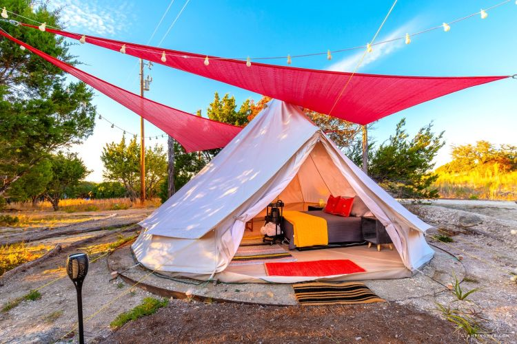 austin area bell tent