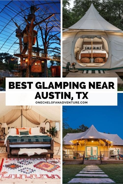 where to go glamping in Austin