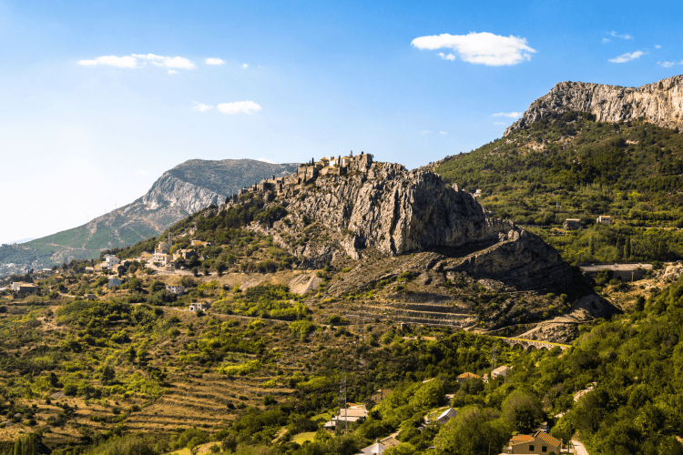 Fortress of Klis near Split Croatia