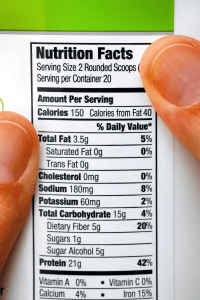 read food labels when starting keto diet