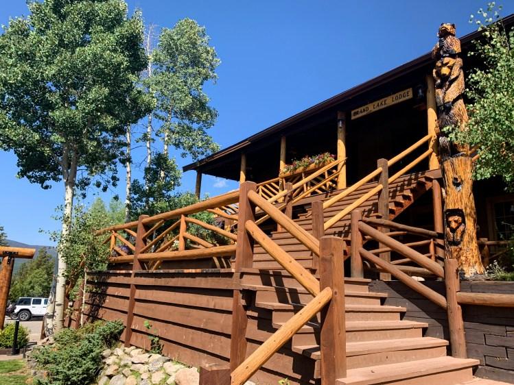 Main Lodge at Grand Lake Lodge