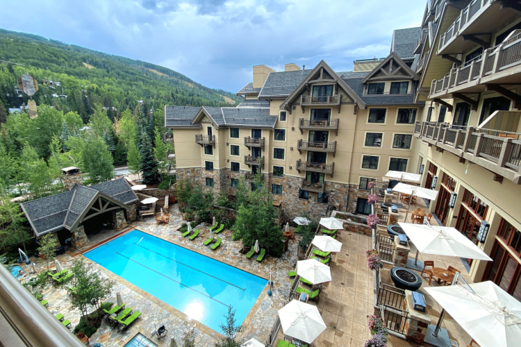 Four Seasons Vail Balcony View