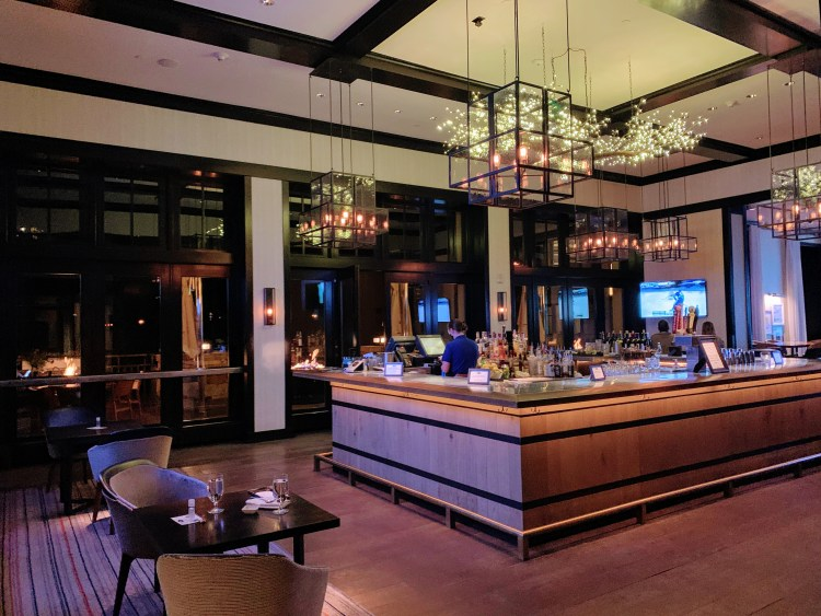 Bar in the Four Seasons Vail