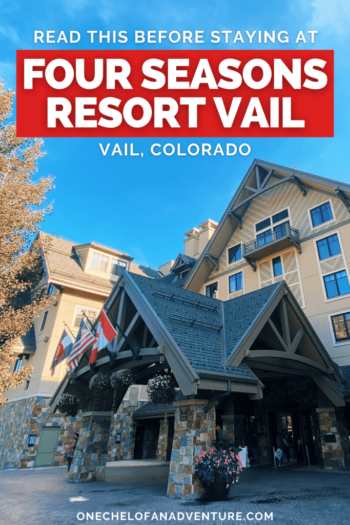 Staying at the Four Seasons Vail