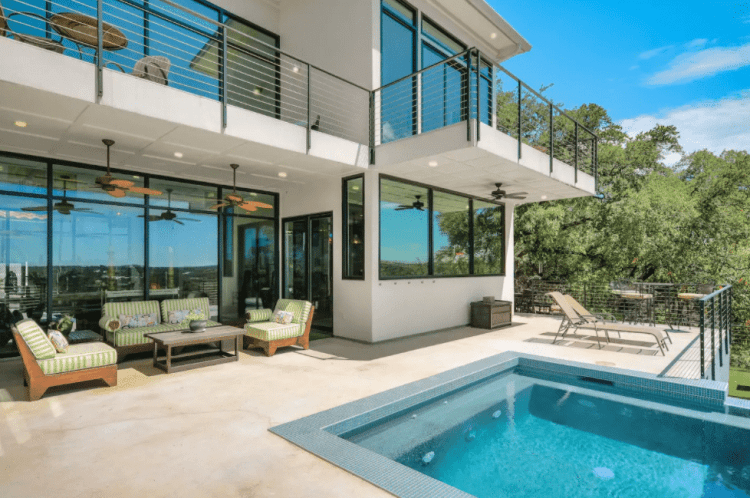 cool luxury airbnb in austin