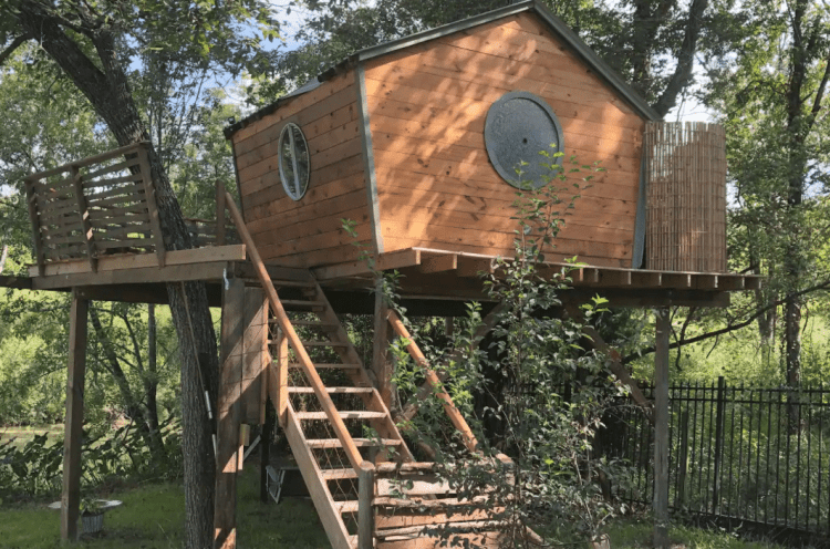 Treehouse cabins Texas - Lake Conroe