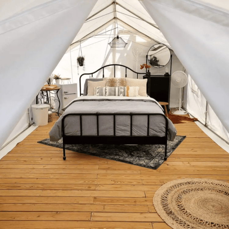 The Grove Glamping Tent near San Antonio