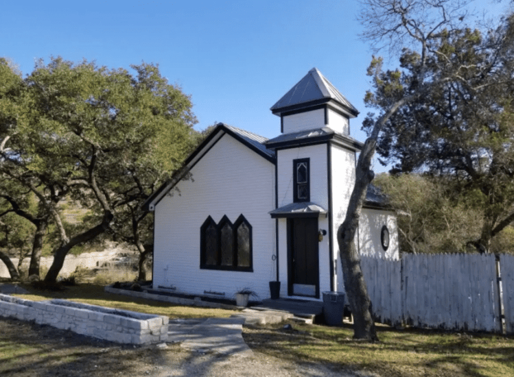 Hill Country Chapel Rental on Airbnb