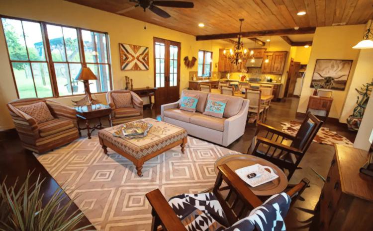 Italian Villa Airbnb in Texas