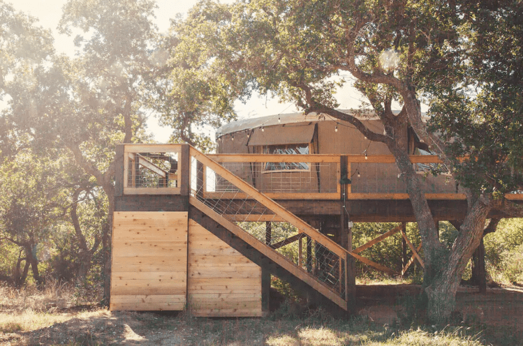 Glamping Yurt from San Antonio, Texas