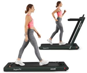 fitness gift ideas - folding treadmill