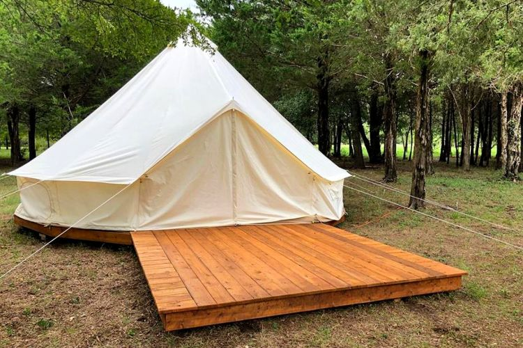 Bell Tent Rental in North Texas
