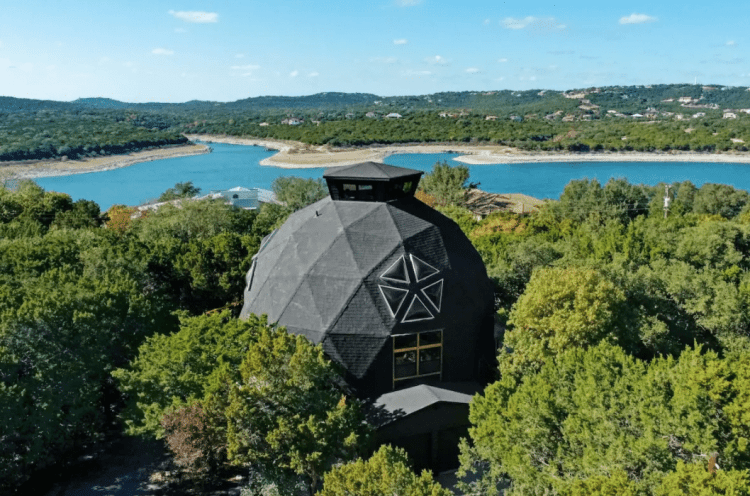 Geodome Airbnb in Texas