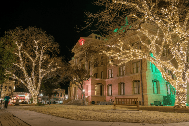 Georgetown Texas Christmas Lights