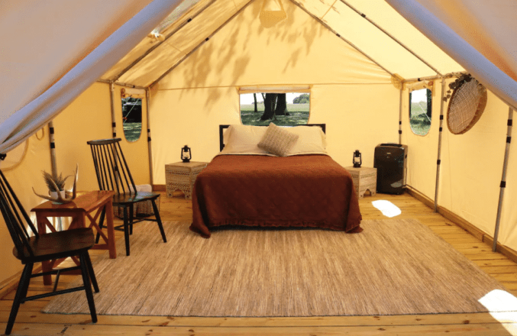 Glamping Tent at Wood Guest Ranch
