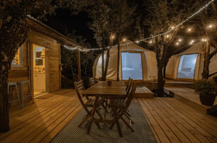 Glamping Tents near Dallas - Skybox