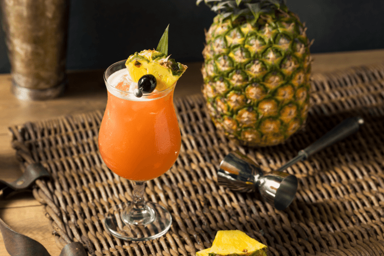 Cocktails from around the world - Singapore Sling