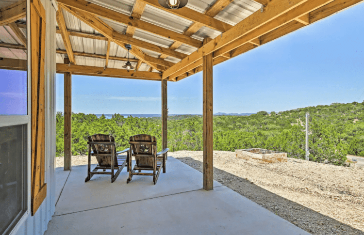 Texas Cabin with View