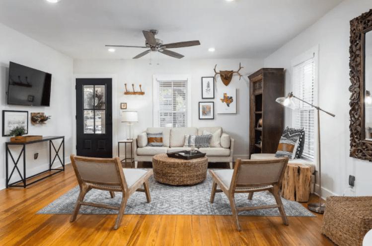 The Peach Fredericksburg Airbnb