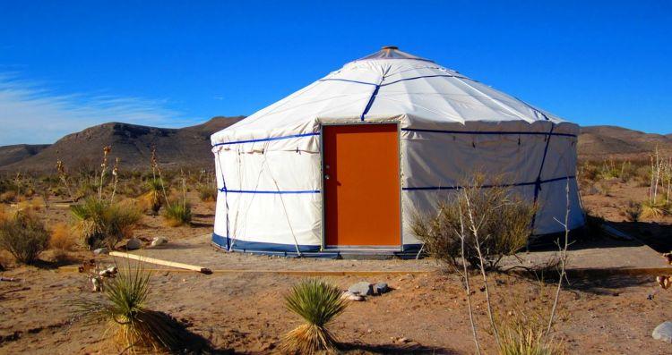 Yurts near El Paso Texas