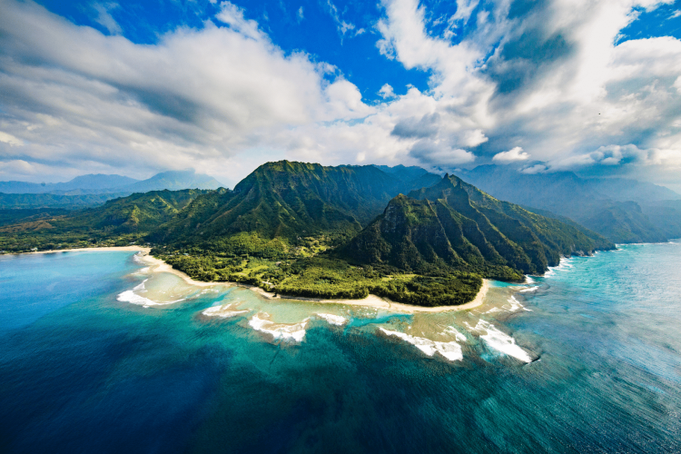 You can travel to tropical Kauai without a passport