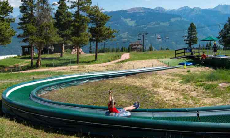 Summer Tubing in Vail Colorado