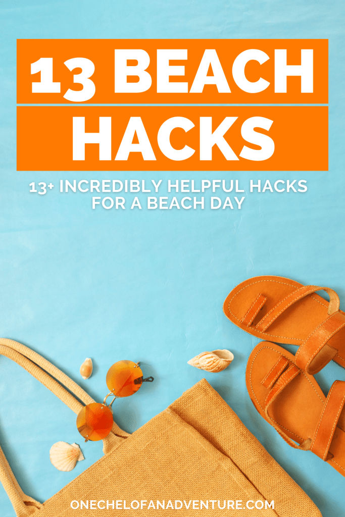 best beach hacks for summer